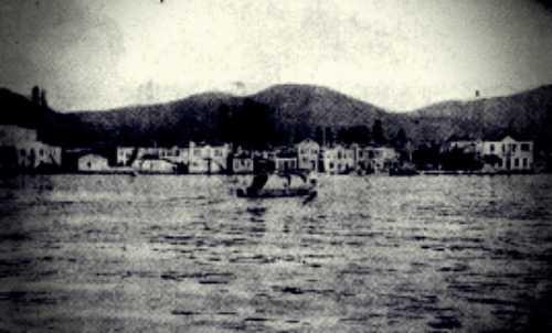Το λιμάνι της Θάσου, το 1938