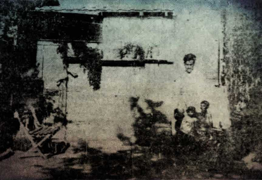 Το σπίτι της οδού Αστυδάμαντος στο Παγκράτι, τον Αύγουστο του 1930