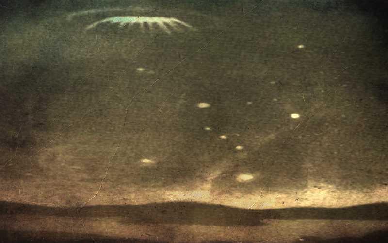 Ιπτάμενοι δίσκοι πάνω από την Αγγλία και την Ινδία, το 1954...