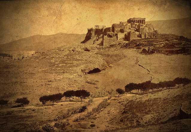 Αθήνα, μέσα 19ου αιώνα