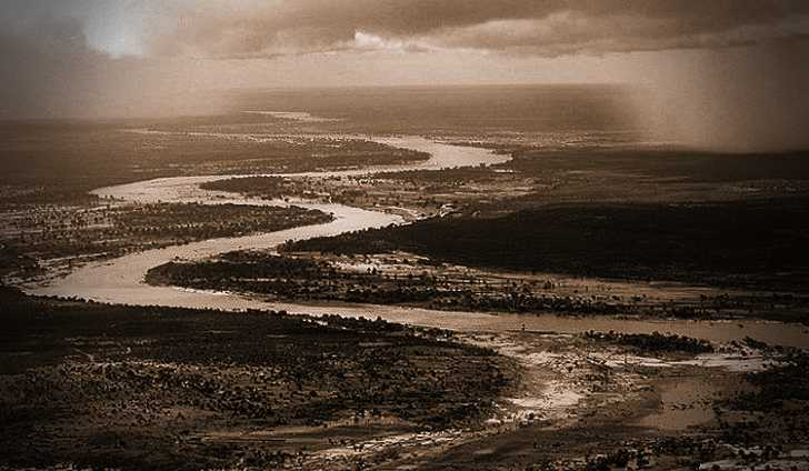 Ο ποταμός Κοματί, στη Μοζαμβίκη