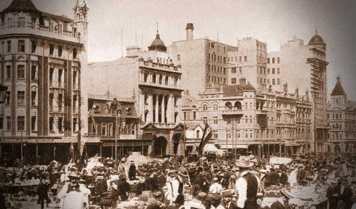 Γιοχάνεσμπουργκ, αρχές 20ου αιώνα