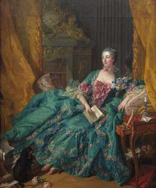 Ζαν Αντουανέτ Πουασόν, Μαρκησία ντε Πομπαντούρ (29/12/1721 - 15/04/1764)