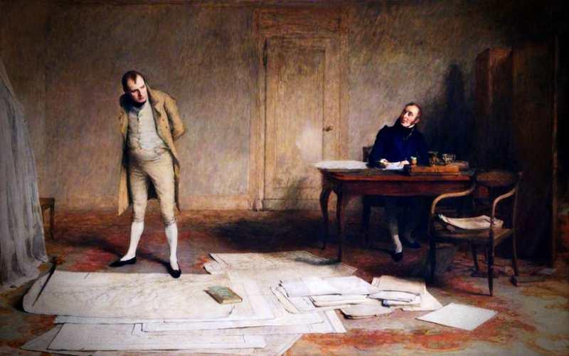 Το άγνωστο μυθιστόρημα του Ναπολέοντα Βοναπάρτη…