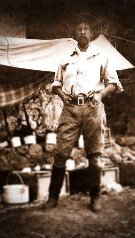 Ο Percy Fawcett στο Dead Horse Camp