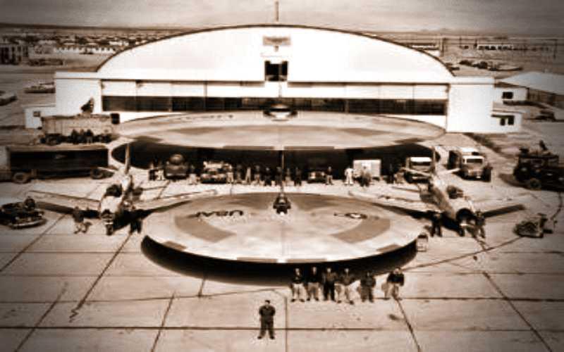 Ο πρώτος γήινος ιπτάμενος δίσκος...