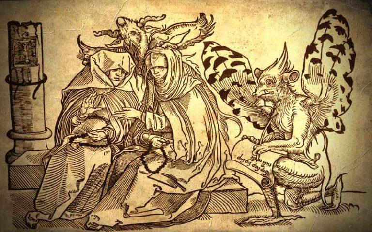 """Η διαβόητη δίκη των """"Εραστών του Διαβόλου"""", τον 17ο αιώνα..."""