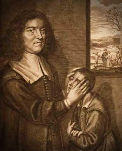 Ο Ιρλανδός θεραπευτής Valentine Greatrakes (14/02/1628 - 28/11/1682)