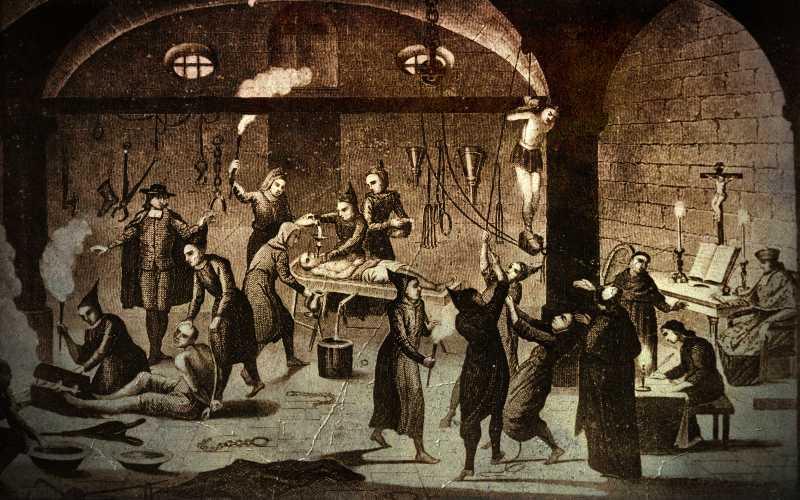 Οι τρομακτικές κρύπτες της Ιεράς Εξέτασης...