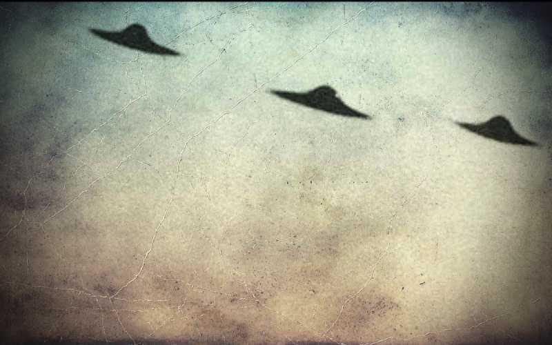 Τρία Α.Τ.Ι.Α. πάνω από τη Μόντενα της Ιταλίας, το 1950…