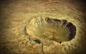 """Ο μυστηριώδης κρατήρας στο """"Φαράγγι του Διαβόλου""""..."""