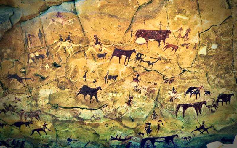Οι αινιγματικές βραχογραφίες της Σαχάρα…