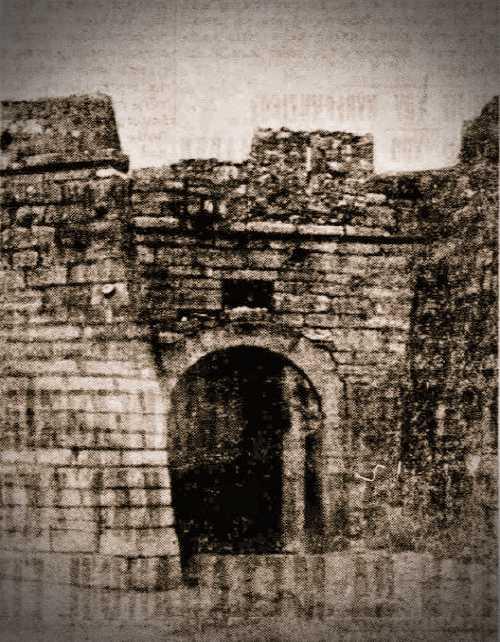 Ο Πύργος του Αράπη, στο Κάστρο του Ρίου, το 1932