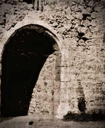Μία από τις πύλες του Κάστρου του Ρίου, 1932
