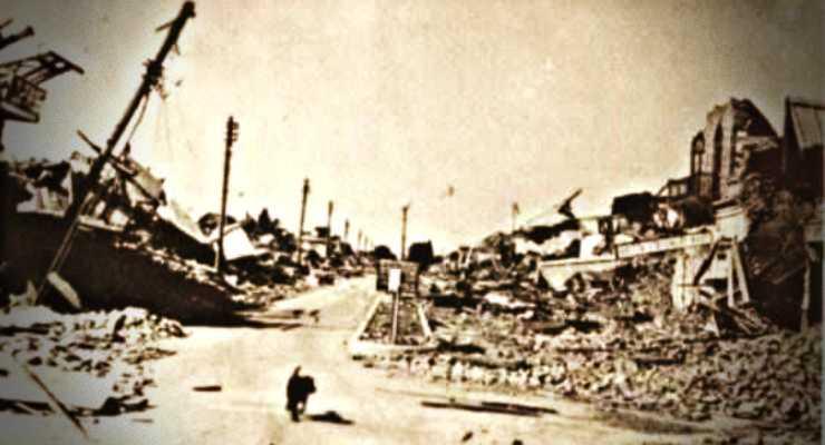 Quetta, Πακιστάν, μετά τον καταστροφικό σεισμό του 1935