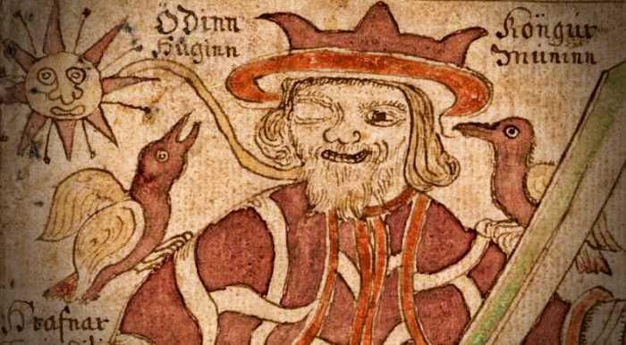 Ο μονόφθαλμος θεός των Σκανδιναβών, Odin