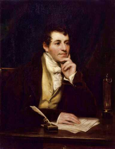 Humphry Davy (17/12/1778 - 29/05/1829)