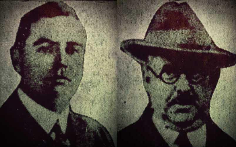Αριστερά, ο γιος του Robert James Lees, ο οποίος έφερε στη δημοσιότητα τις σημειώσεις του πατέρα του. Δεξιά, η φωτογραφία ενός ιατρού, μυστηριωδώς εξαφανισμένου, την εποχή που διαπράχθηκαν τα ειδεχθή εγκλήματα.