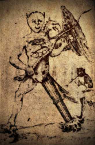 Διαβολικό σύμβολο των αρχαίων αλχημιστών