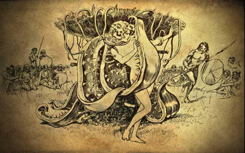 Η αγγλική αποστολή για την ανακάλυψη του ανθρωποφάγου δέντρου της Μαδαγασκάρης, το 1932...