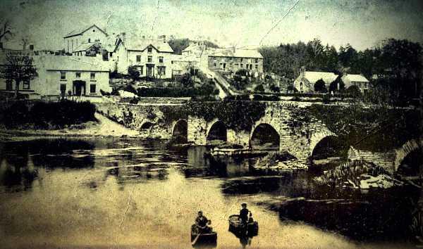 Το Llechryd της Ουαλίας, το 1903