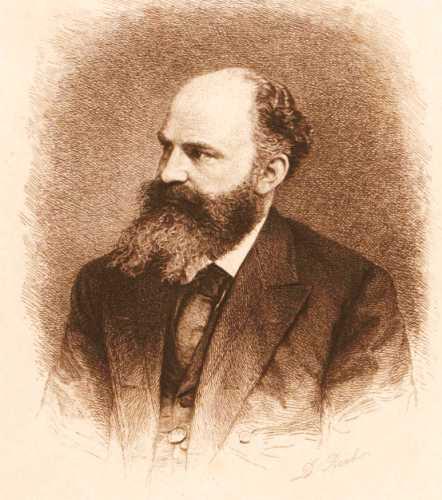 Georg Moritz Ebers (01/03/1837 - 07/08/1898)