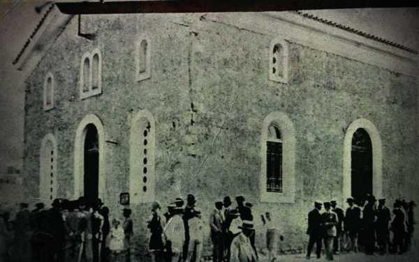 Ο Ιερός Ναός του Αγίου Ελευθερίου Γκύζη, στο Πεδίον του Άρεως
