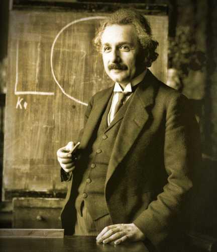 Albert Einstein (14/03/1879 - 18/04/1955)