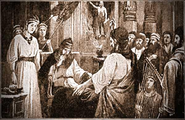 Ο Προφήτης Δανιήλ ενώπιον του Ναβουχοδονόσορα