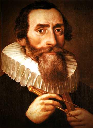 Johannes Kepler (27/12/1571 - 15/11/1630)