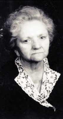 Η Mariuccia Sopegno (1918 - 1993), σε προχωρημένη ηλικία