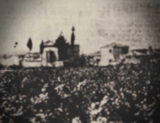 Όμορφο ξωκλήσι σε χωριό της Ολυμπίας, το 1933