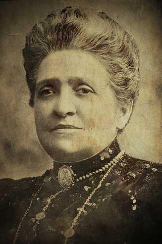 "Anne Victorine Savigny, γνωστή ως ""Madame de Thebes"" (1845 - 1916)"