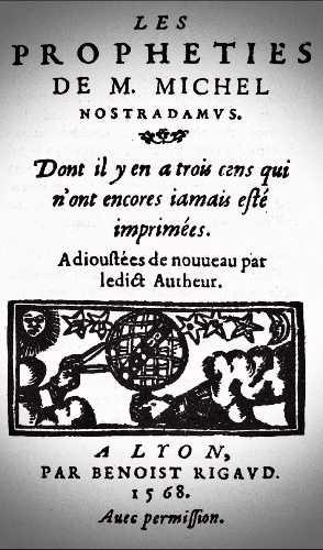 Οι Προφητείες του Νοστράδαμου, έκδοση του 1568