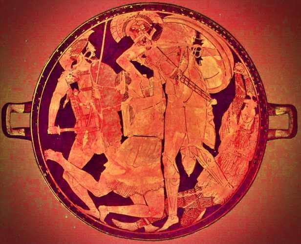 Ο Αχιλλέας σκοτώνει την Πενθεσίλεια