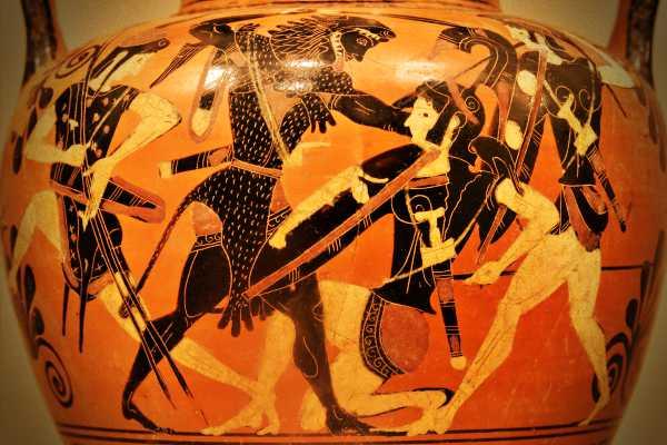 Ο Ηρακλής, πολεμώντας τις Αμαζόνες