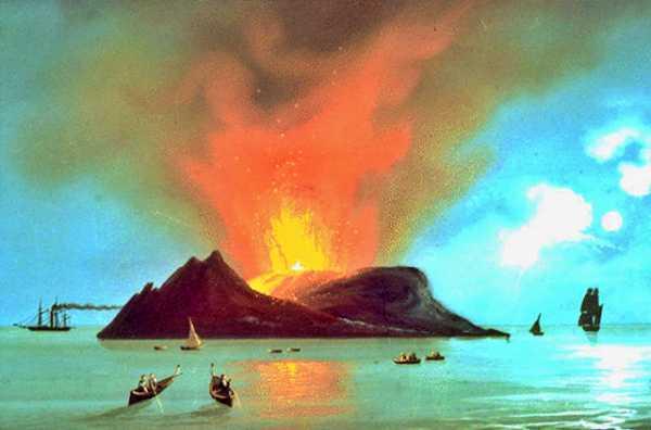 Το φαινόμενο που συντελέστηκε στην ιταλική νήσο Ferdinandea, το 1831