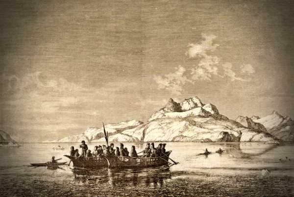 Umiak, η παραδοσιακή βάρκα των Εσκιμώων