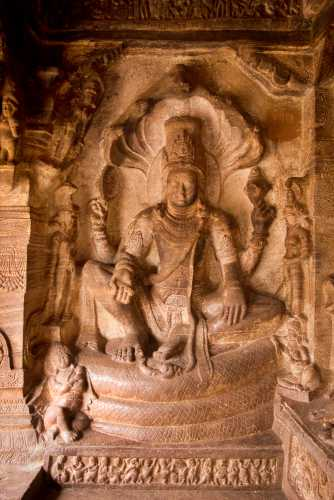 Η ινδική θεότητα Narayana