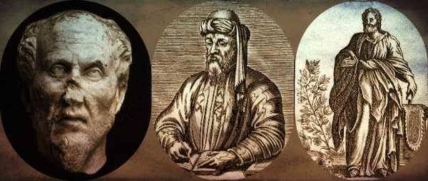 Οι Αλεξανδρινοί φιλόσοφοι Πλωτίνος, Πορφύριος και Ιάμβλιχος