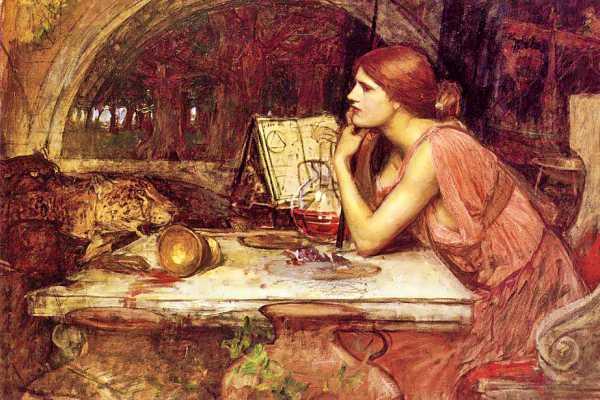 """""""Κίρκη"""", πίνακας του Άγγλου ζωγράφου John William Waterhouse (1849 - 1917)"""
