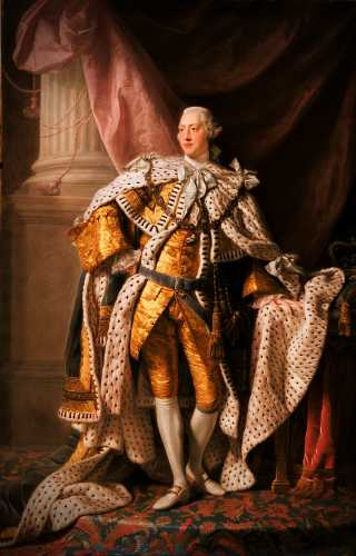 Ο Βασιλιάς της Αγγλίας Γεώργιος ο Γ' (04/06/1738 - 29/01/1820)