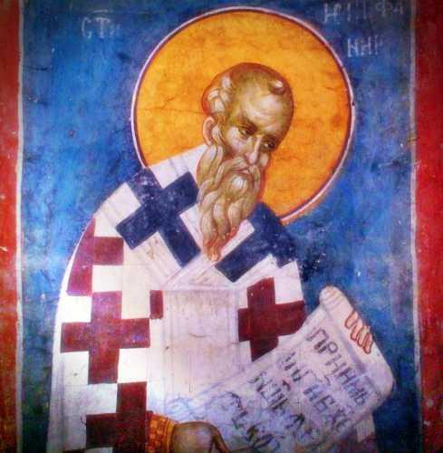 Άγιος Επιφάνιος, Επίσκοπος Κύπρου (περίπου 315 - 403 μ.Χ.)
