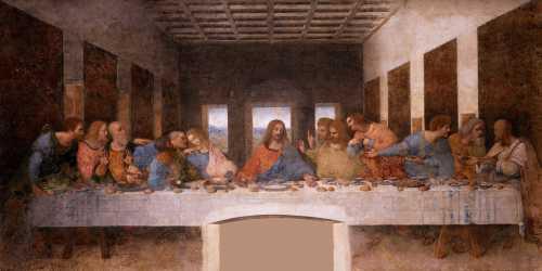 """""""Ο Μυστικός Δείπνος"""", το διάσημο έργο του Leonardo da Vinci"""