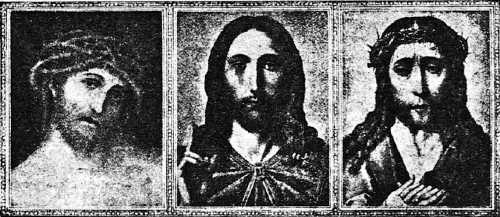 Ο Ιησούς, όπως απεικονίστηκε από τους ζωγράφους του 15ου αιώνα Lucas Cranach, Quentin Massys και Rogier van der Weyden
