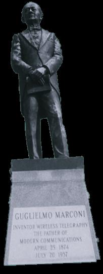 Το άγαλμα του Μαρκόνι