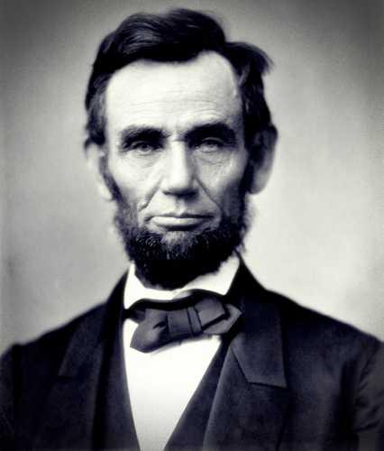 Abraham Lincoln (12/02/1809 - 15/04/1865)