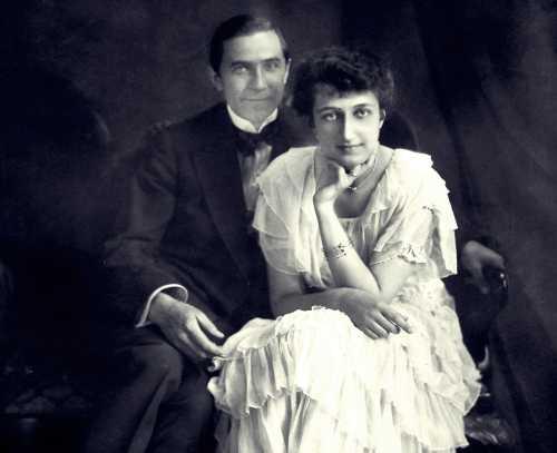 Ο Bela Lugosi μαζί με την πρώτη του σύζυγο, Ilona Szmik, το 1917