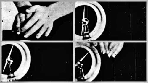 Φωτογραφίες από τα πειράματα της Κλειούς Γεωργίου με τη μαγνητική βελόνα