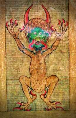 Η απεικόνιση του Διαβόλου μέσα στο Codex Gigas